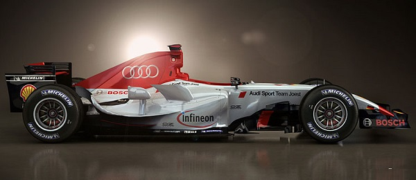 Audi formula one 2016