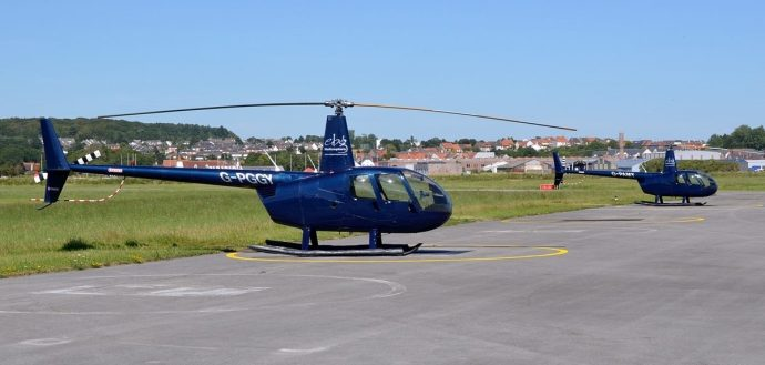 R44s Parked