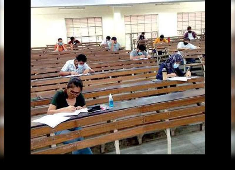तीन महीने बाद, लखनऊ विश्वविद्यालय परिसर में फिर गुलजार |  लखनऊ समाचार