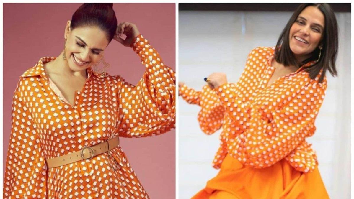 नेहा धूपिया या जेनेलिया देशमुख?  इस ₹8.5k शर्ट ड्रेस को किसने बेहतर ढंग से स्टाइल किया |  फैशन का रुझान