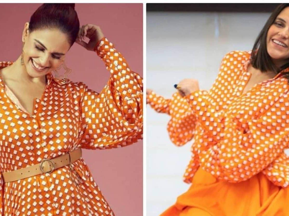 नेहा धूपिया या जेनेलिया देशमुख?  इस ₹8.5k शर्ट ड्रेस को किसने बेहतर ढंग से स्टाइल किया    फैशन का रुझान