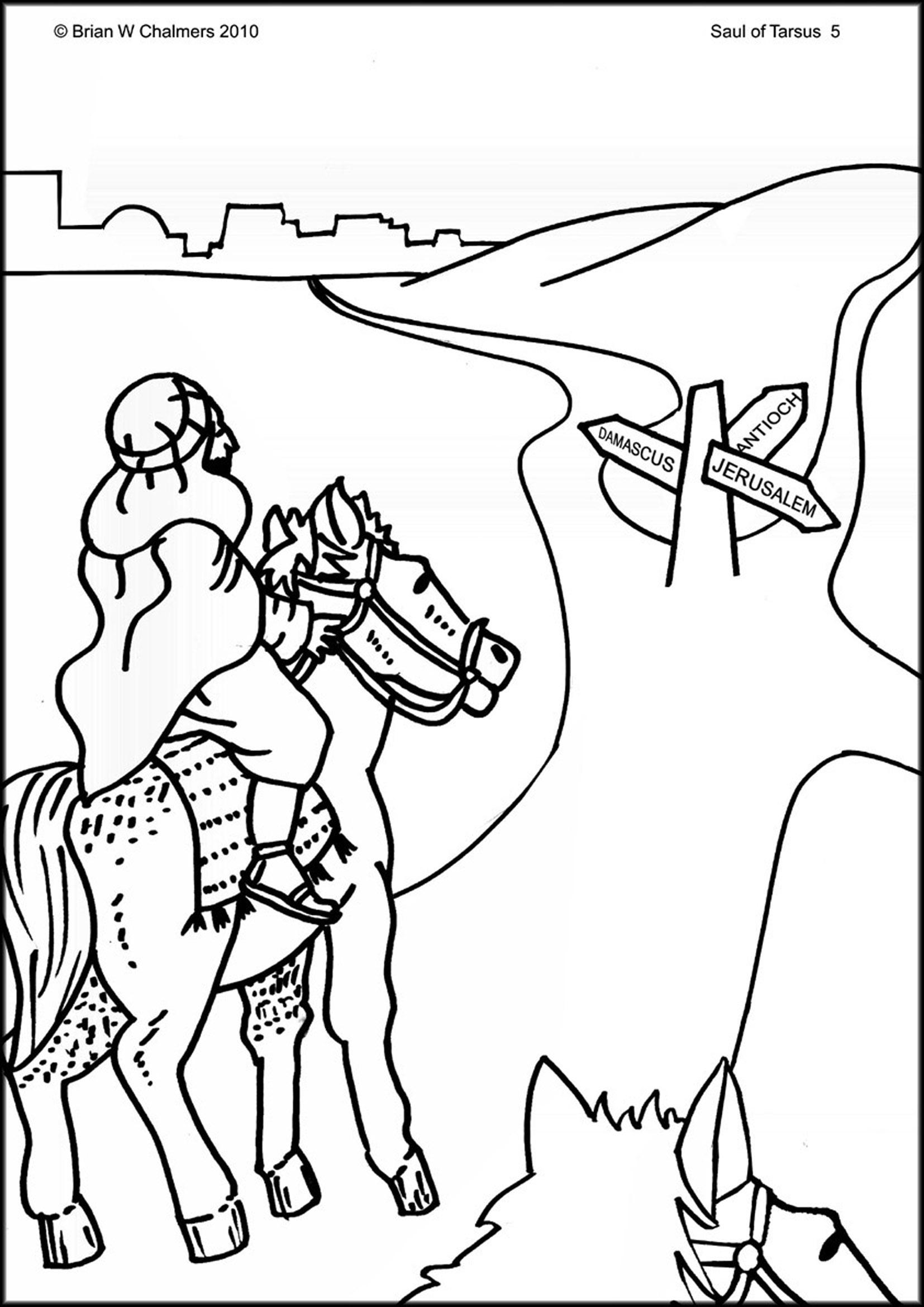 Saul Of Tarsus Flip Chart