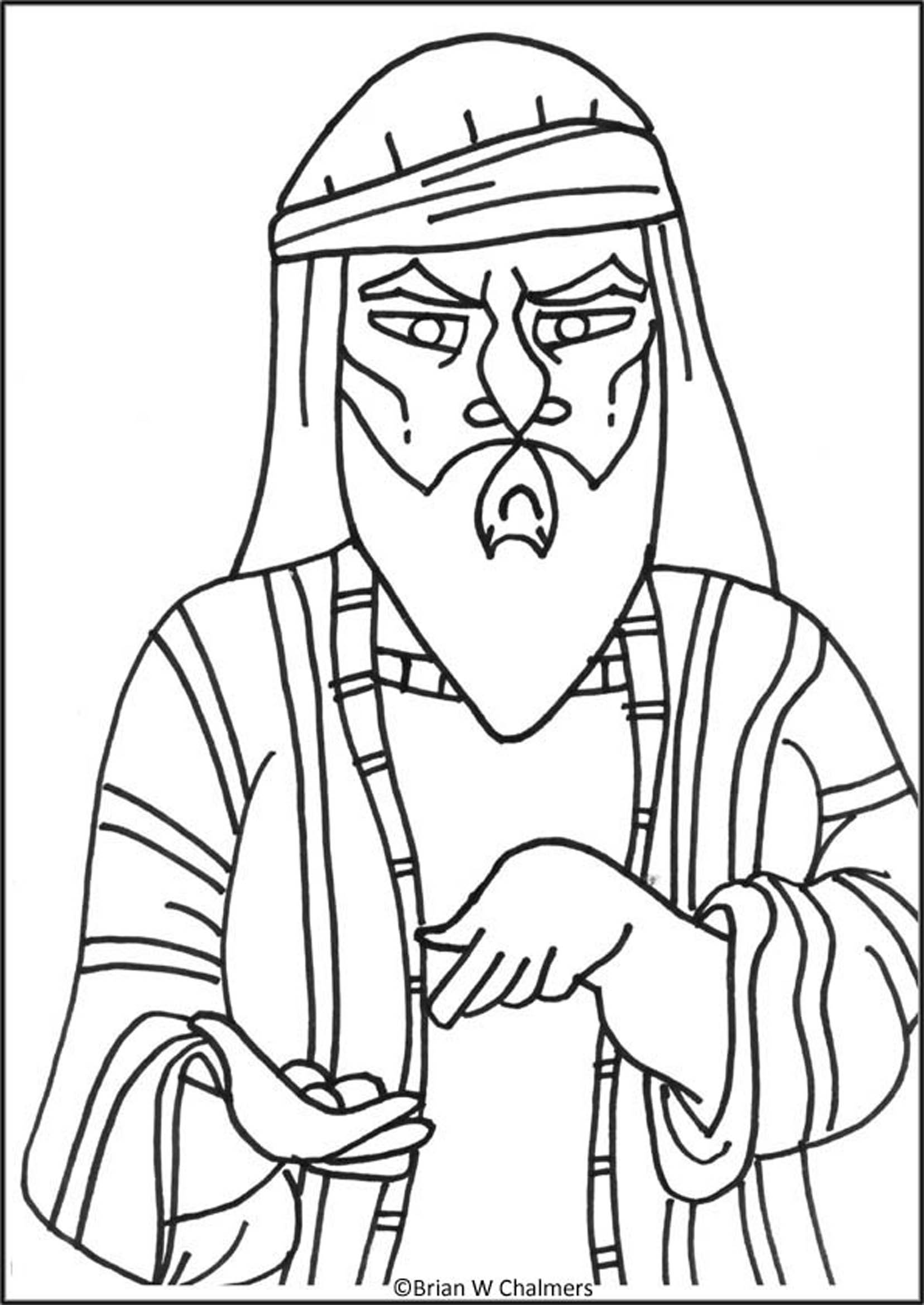Zaccheus Coloring Pages Free Coloring Pages