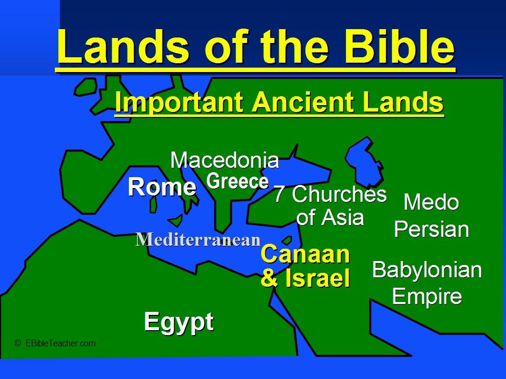 Old Testament Maps