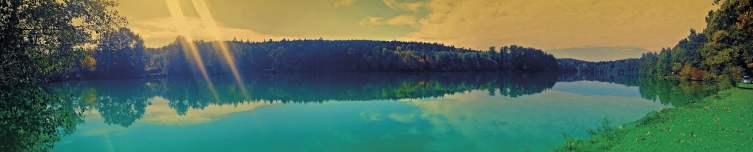 Panorama - Fischteich Martin Ox