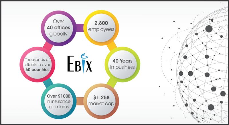 We Are Ebix Infographic