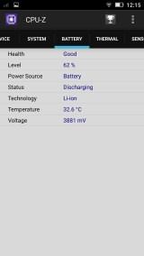 Resultados de CPU-Z K5 5/7