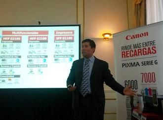Canon regresa al mercado argentino de impresión