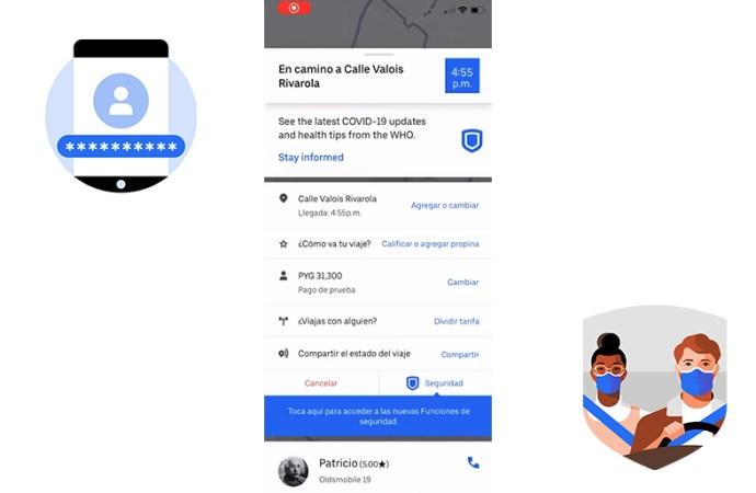 Grabación de audio: la nueva función de seguridad de Uber en Argentina