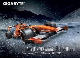 "GIGABYTE presentó el ""Z170 Winter OC Challenge"""