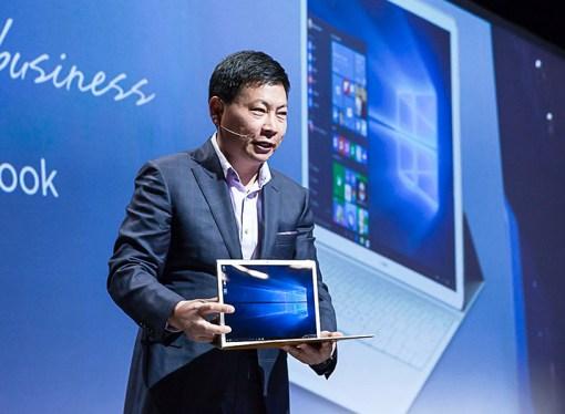Huawei presentó el MateBook en el Mobile World Congress