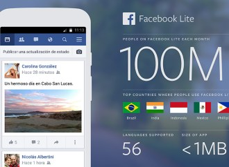 Facebook Lite: 100 millones de usuarios activos en 9 meses