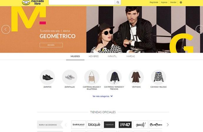 Mercadolibre/Moda conquista el fashion e-commerce a nivel regional