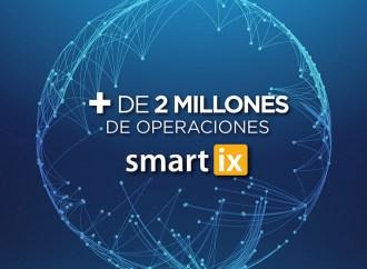 Smartix supera las 2 millones de operaciones emitidas