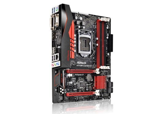 ASRock lanzó motherboards con chipset H110