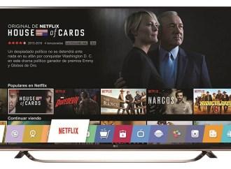 """LG forma parte del programa """"NetflixRecommended TV"""" por segundo año consecutivo"""