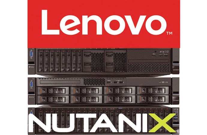 Lenovo confirmó su alianza mundial con Nutanix