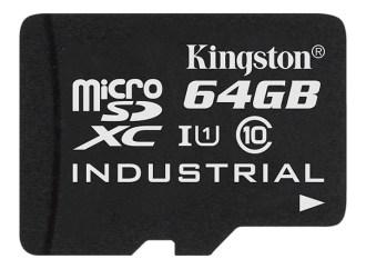 Kingston lanzó una tarjeta microSD para temperaturas industriales