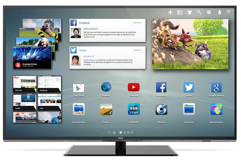 c0ef33847bf RCA presentó su smart TV 4K de 55 pulgadas - ebizLatam.com