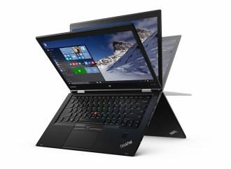 Lenovo presentó la ThinkPad X1 Yoga