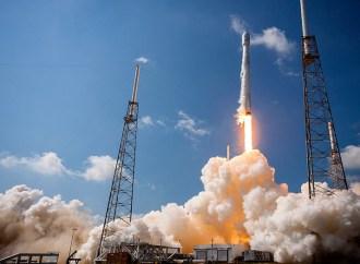 El EUTELSAT 117 West B fu lanzado al espacio en un cohete Falcon 9 de SpaceX