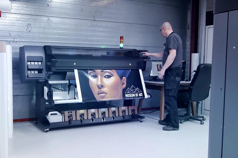 HP Latex 500 Printer
