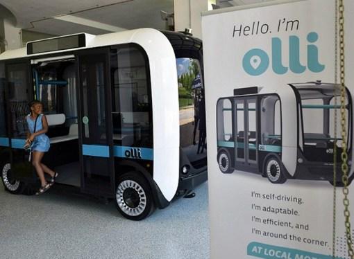 Llega 'Olli', vehículo autónomo que aprovecha el poder de IBM Watson