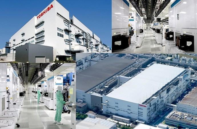 Toshiba y Western Digital inauguran la planta de fabricación de semiconductores fab 2