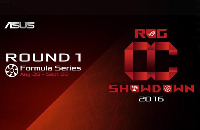 ASUS ROG presentó los torneos OC Showdown y RealBench 2016