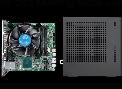 ASRock presentó el motherboard H110M-STX