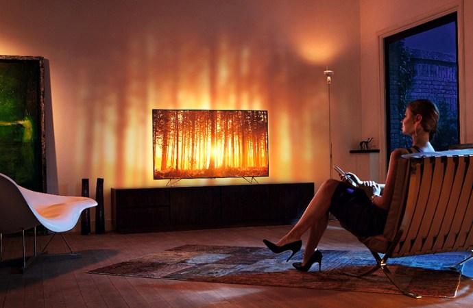 Philips TV presentó sus nuevos Smart TV con Android y tecnología Ambilux