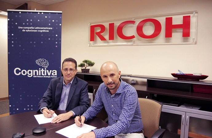 Ricoh Latin America firma un convenio con Cognitiva Latinoamérica