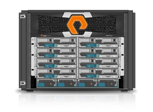 Pure Storage lanzó FlashStack