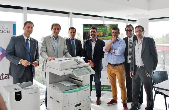 Toshiba presentó la impresora ecológica e-Studio 307LP