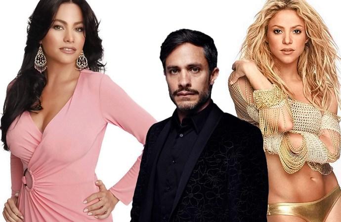 Sofía Vergara, Gael García y Shakira son las celebridades más peligrosas