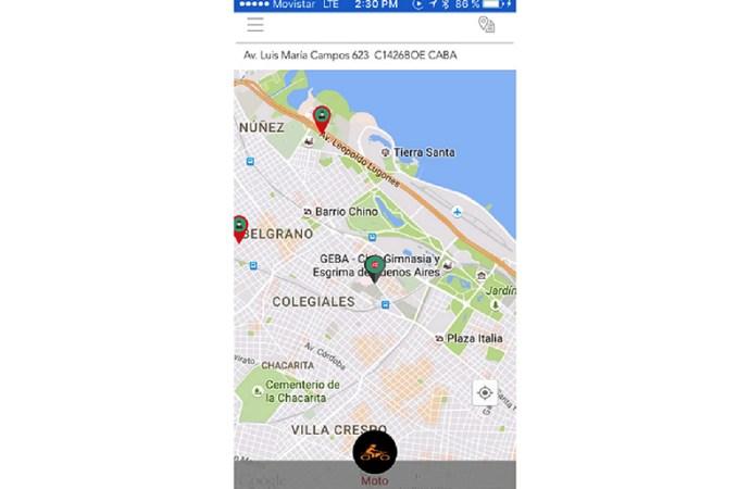 Se lanzó en Argentina la primera app de mensajería y cadetería instantánea