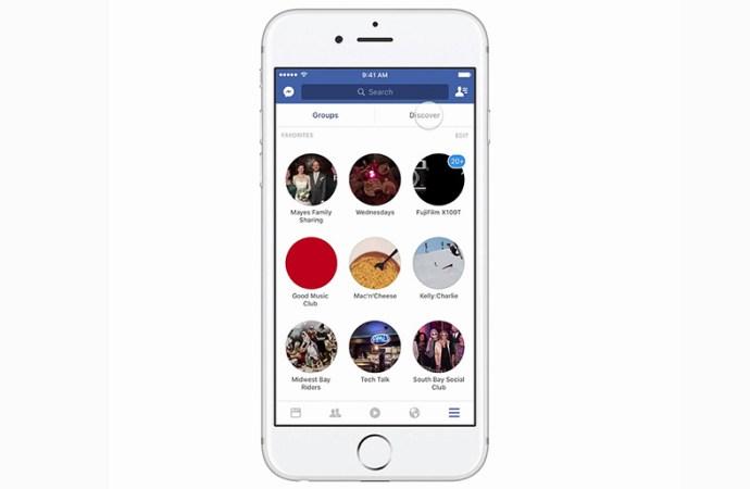 Facebook lanzó Groups Discovery