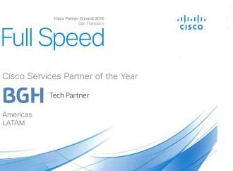BGH Tech Partner fue elegida como Cisco Services Partner del año en Latinoamérica