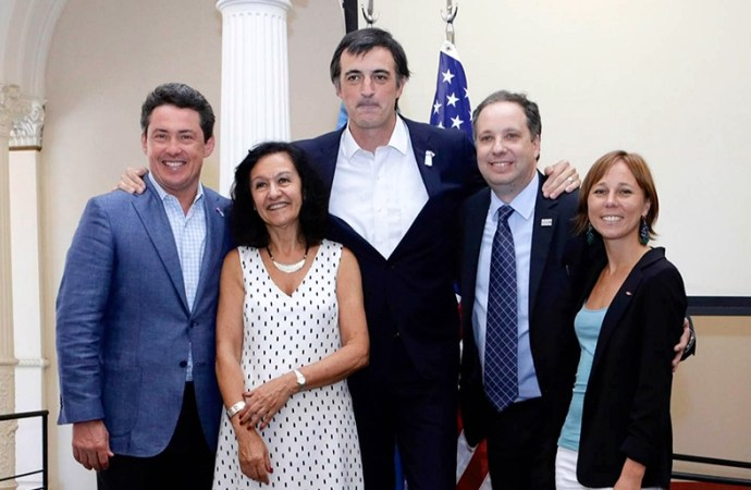 "United Airlines participó en ""Friends of Fulbright"""