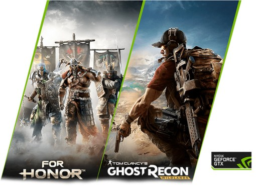 Adquiera la GeForce GTX 1070 o la GTX 1080 y gane For Honor