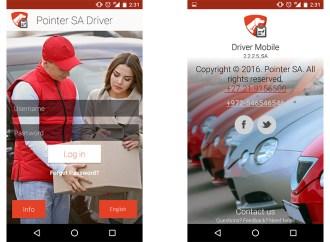 Pointer Driver ayuda a los conductores a gestionar sus tareas en tiempo real