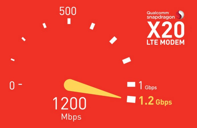 Qualcomm lanzó el Snapdragon X20 LTE Módem