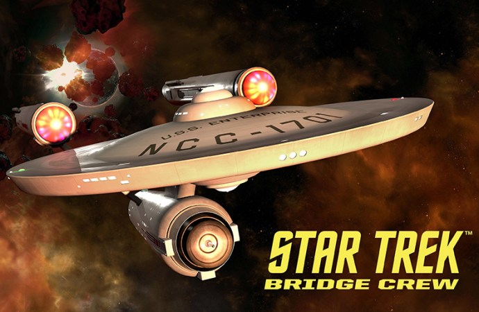 El puente original del U.S.S. Enterprise estará disponible para Star Trek: Bridge Crew