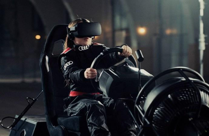 Audi invita a entrar en la caja de arena de realidad virtual