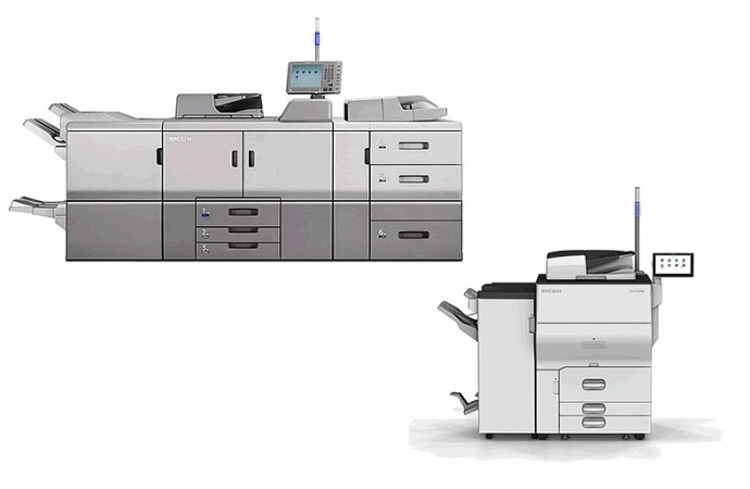 Ricoh presentó nuevos equipos de producción