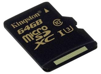 Kingston Technology presentó su nueva tarjeta flash Clase 3 microSD