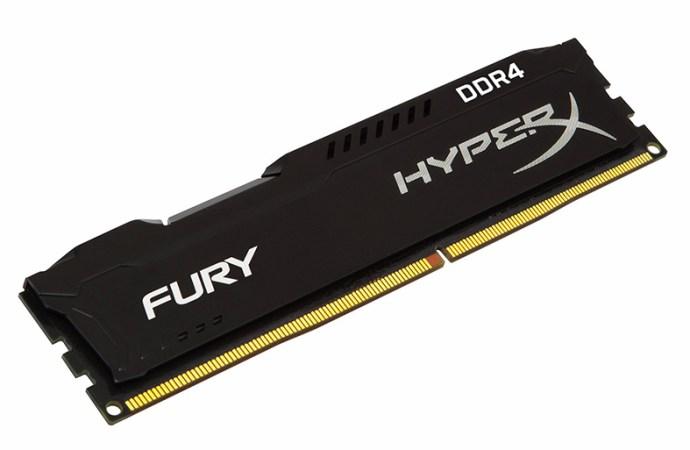HyperX expande su línea de memoria Fury DDR4