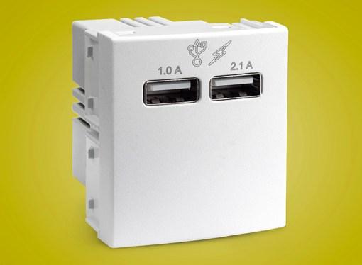 Schneider Electric lanzó nuevos módulos USB Roda