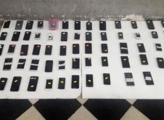 Nuevo operativo contra la mafia de los celulares
