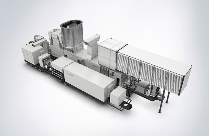 Siemens presentó la unidad móvil SGT-A45 TR
